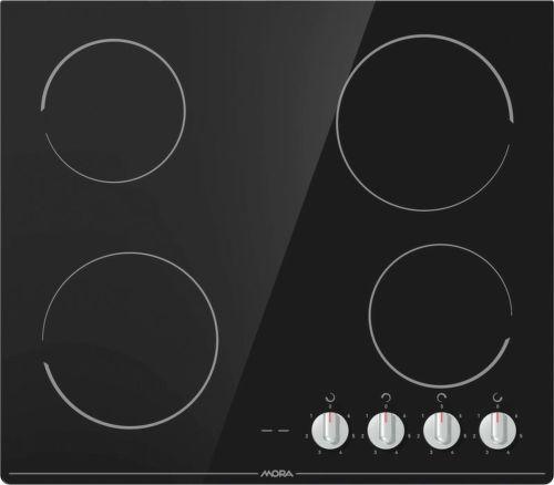 Mora VDSK 641 C, černá sklokeramická varná deska