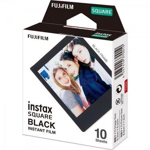 FUJI Square 10LIST BLK, Film Instax