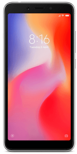 Xiaomi Redmi 6 32 GB černý
