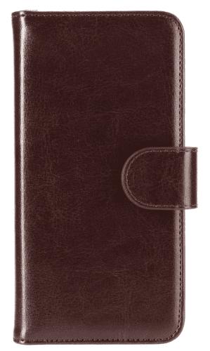 XQISIT Wallet Eman pouzdro pro iPhone 8/7/6S/6, hnědá