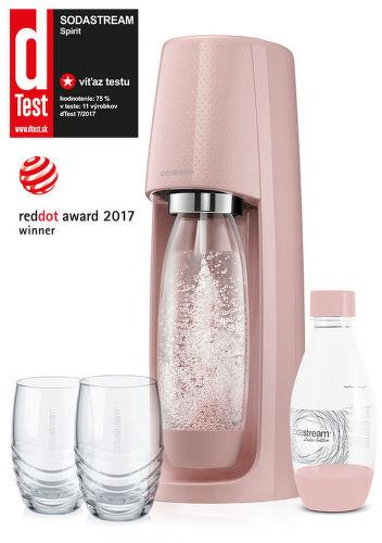 Sodastream Spirit pink blush
