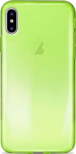 Puro Nude 0.3 pouzdro pro Apple iPhone X, zelená