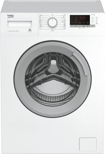 BEKO WTE7612BS, bílá pračka plněná zepředu