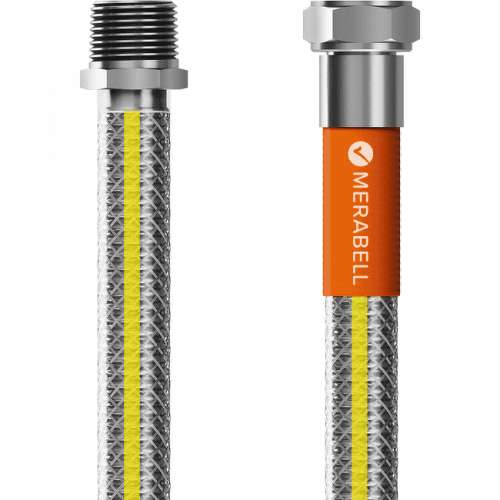 """Merabell Gas Profi R1/2"""" - G1/2"""" 100 cm plynová hadice"""