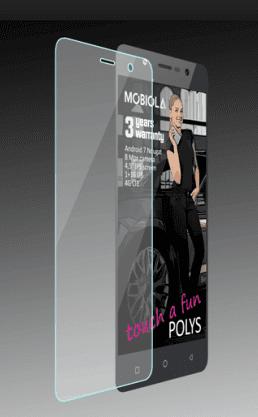 Mobiola tvrzené sklo pro Mobiola Polys, transparentní