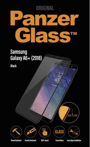 Panzerglass sklo pro Samsung Galaxy A6 Plus 2018, černá