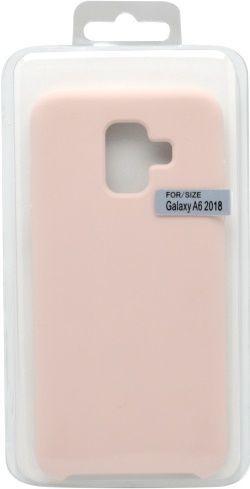 Mobilnet silikonové pouzdro pro Samsung Galaxy A6, růžové