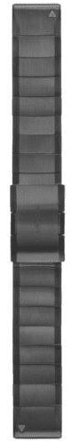 Garmin QuickFit 22 kovový řemínek, šedý