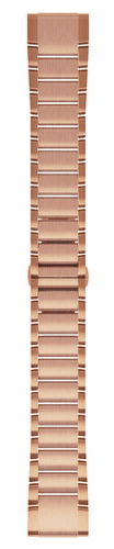 Garmin QuickFit 20 kovový řemínek, růžově zlatý