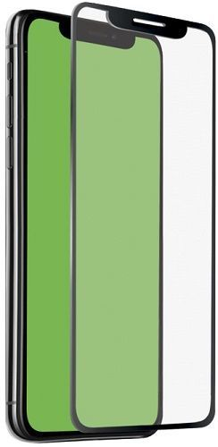 SBS 4D tvrzené sklo pro Apple iPhone Xr s aplikátorem, černá