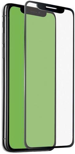 SBS 4D tvrzené sklo pro Apple iPhone Xs Max s aplikátorem, černá