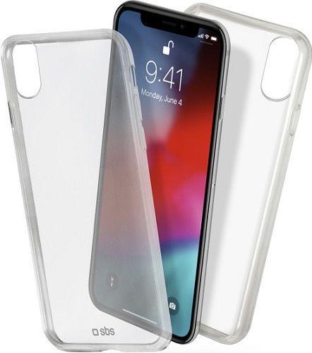 SBS Clear Fit pouzdro pro Apple iPhone Xr, transparentní