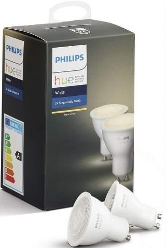 PHILIPS Hue White 5.5W GU10 2ks