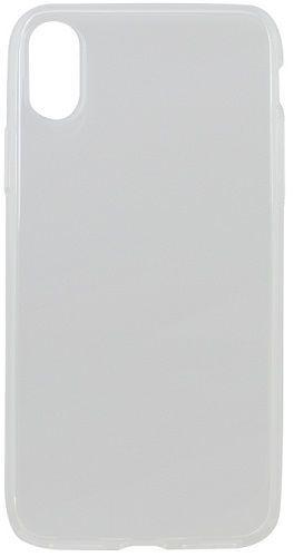 Mobilnet gumové pouzdro pro Apple iPhone Xs, transparentní