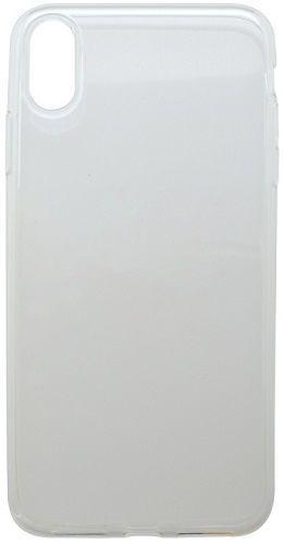Mobilnet gumové pouzdro pro Apple iPhone Xr, transparentní