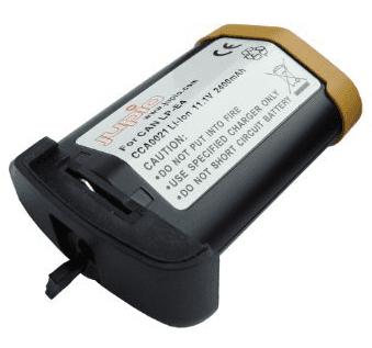 Jupio LP-E4, Náhradní baterie