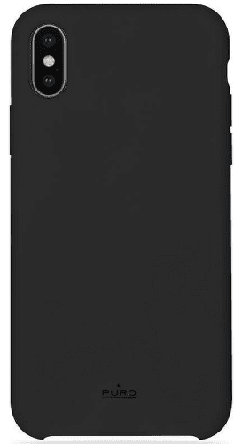 Puro Icon Cover pouzdro pro Apple iPhone Xr, černá