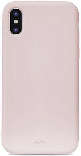 Puro Icon Cover pouzdro pro Apple iPhone Xs Max, růžová