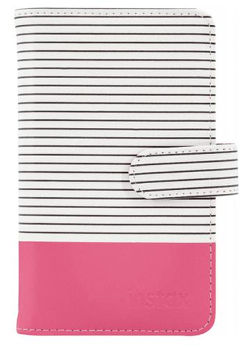 Fujifilm Instax Striped Mini 9 album, růžová