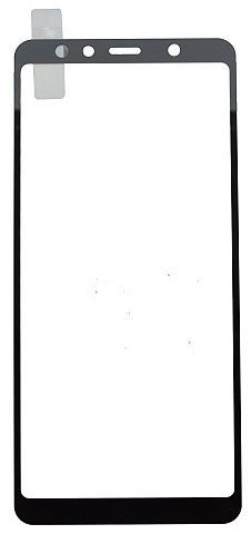 Qsklo Full Cover 2D ochranné sklo pro Samsung Galaxy A7, černá
