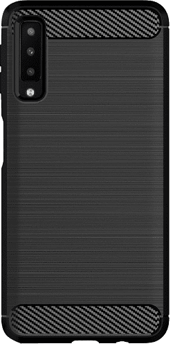 Winner Carbon pouzdro pro Samsung Galaxy A7 2018, černé