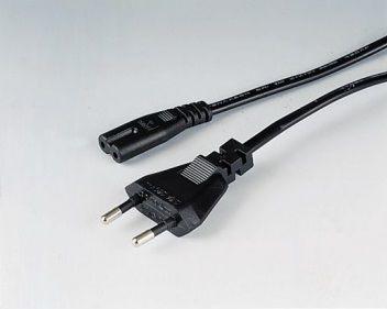 Hama 44266 2,5m černý síťový napájecí kabel