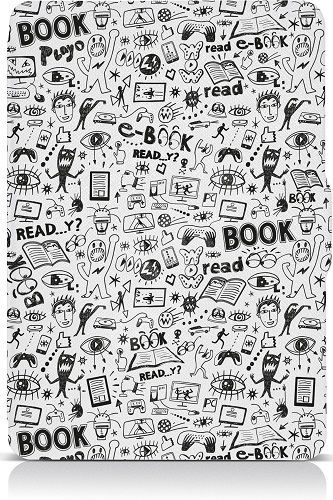 Connect IT Doodle pouzdro pro čtečku e-knih Amazon Kindle Paperwhite bílé