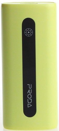 Remax Proda AA-1055 powerbanka 5000mAh, žlutá