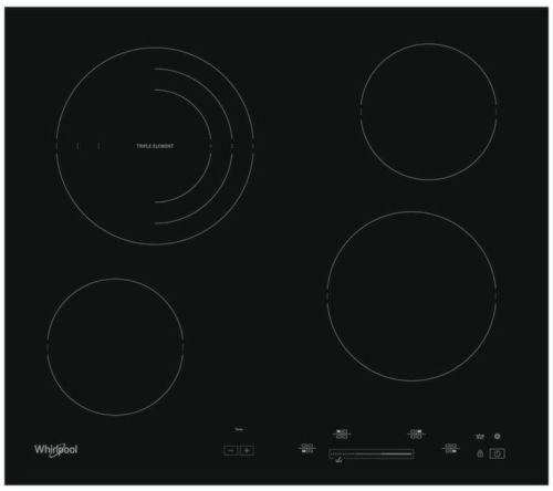 Whirlpool AKT 8900 BA, černá sklokeramická varná deska