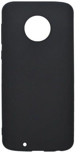 Mobilnet gumové pouzdro pro Motorola Moto G6, matná černá