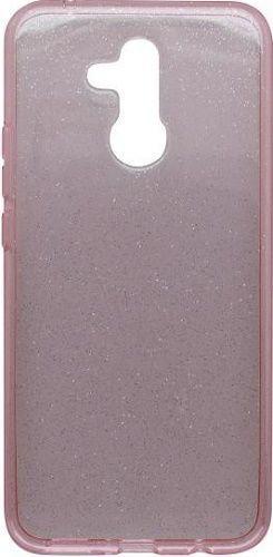 Mobilnet Crystal silikonové pouzdro Huawei Mate 20 Lite, růžová