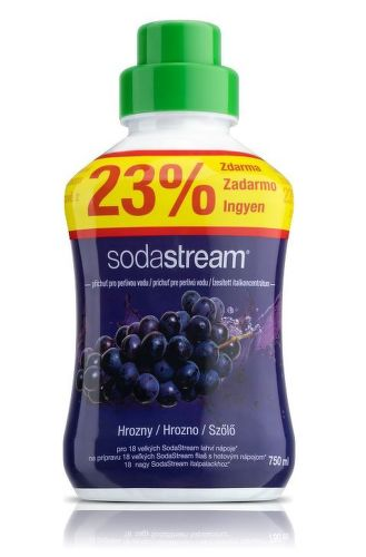SodaStream Red Grapes