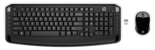 HP Deskset 300 CZ bezdrátový set myš a klávesnice, černá