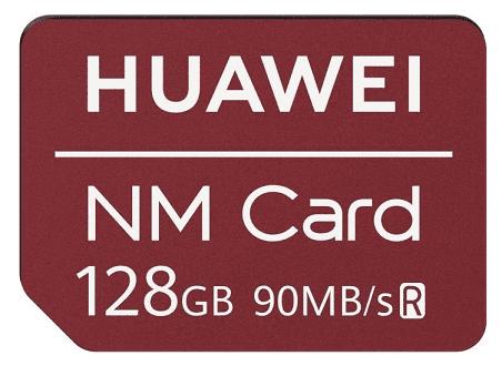 Huawei NM paměťová karta 128 GB, červená