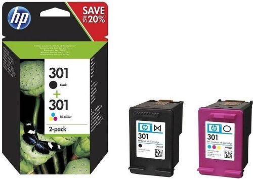 HP 301 sada - černá a barevná
