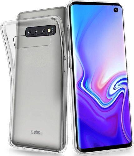 SBS Skinny silikonové pouzdro pro Samsung Galaxy S10e, transparentní