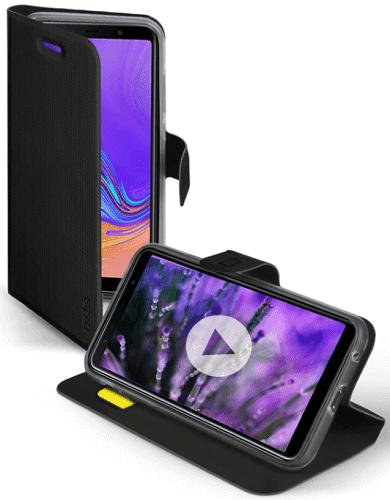 SBS Book Sense pouzdro pro Samsung Galaxy A7 2018, černé