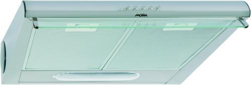 MORA OP 640 S, stříbrný podskříňkový odsavač par