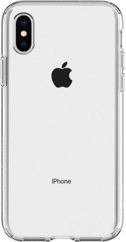 Spigen Liquid Crystal pouzdo pro iPhone X/Xs, transparentní