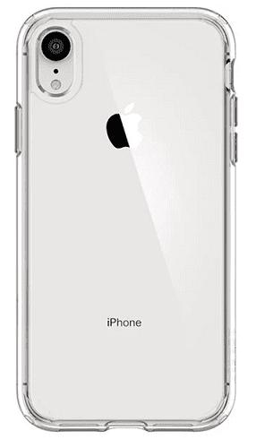 Spigen Ultra Hybrid pouzdro pro Apple iPhone Xr, transparentní