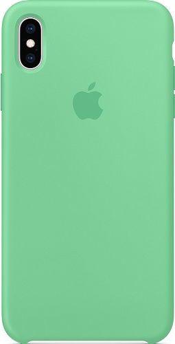 Apple silikonové pouzdro pro Apple iPhone Xs Max, zelená