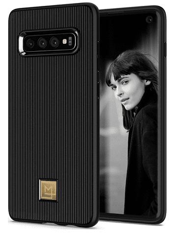 Spigen La Manon Classy pouzdro pro Samsung Galaxy S10, černá