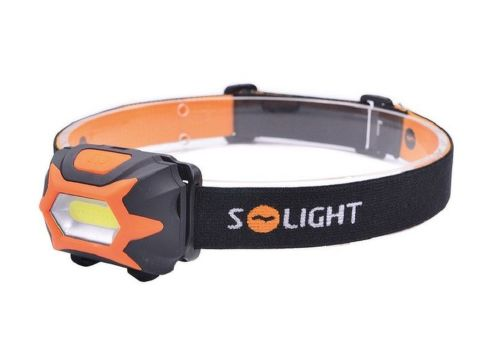 SOLIGHT WH25 LED, čelovka 3x AAA