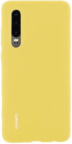 Huawei Silicone Car kryt pro Huawei P30, žlutá