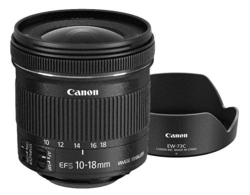 Canon Kit EF-S 10-18mm f/4,5-5,6 IS STM + EW-73C + utěrka