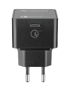 Cellular Line USB-C 30 W nabíječka, černá