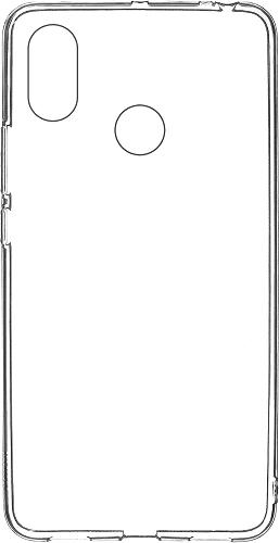 Winner TPU pouzdro pro Xiaomi Mi Max 3, transparentní