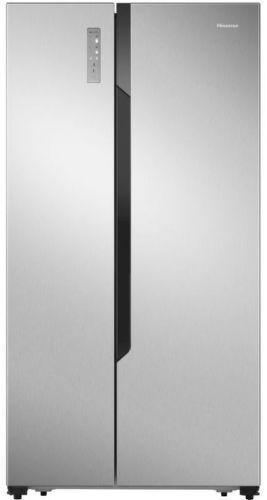HISENSE RS670N4BC3, nerezová americká chladnička