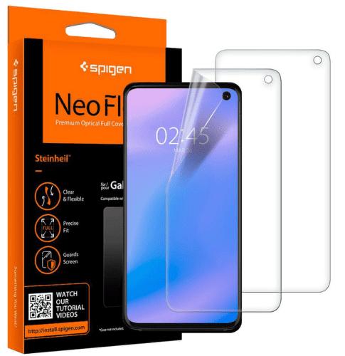 Spigen Neo Flex HD ochranná fólie pro Samsung Galaxy S10, transparentní