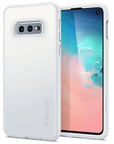 Spigen Thin Fit 360 pouzdro pro Samsung Galaxy S10e, bílá